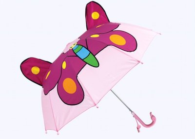Schmetterling Kinderregenschirm