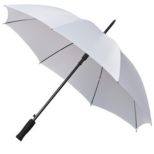 Golfregenschirm weiß