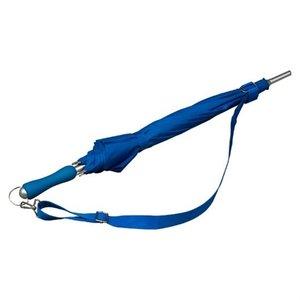 Falcone® Wander-Trekkingschirm mit Schulterband Blau