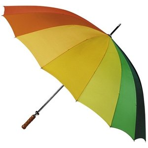 Regenbogen Golfregenschirm Ø130cm