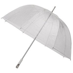 Golfregenschirm Transparent Weiß
