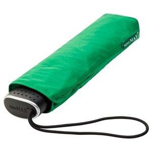 Ultraflacher Taschenschirm Grün