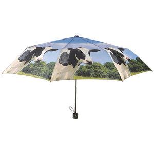 Taschenregenschirm Kühe