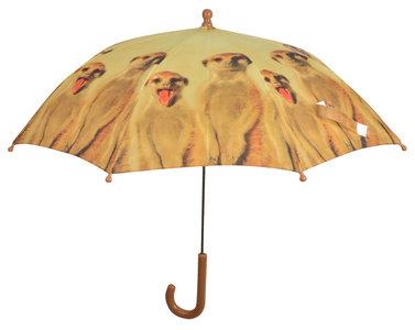 Kinderregenschirm Erdmännchen