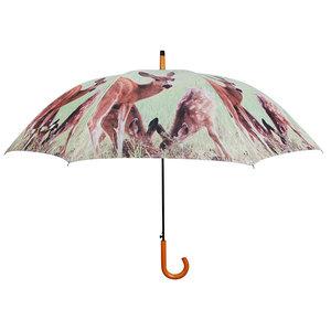 Hirsch Regenschirm