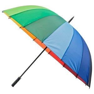 Regenbogen Golfregenschirm