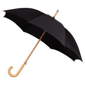 Stockregenschirm Schwarz
