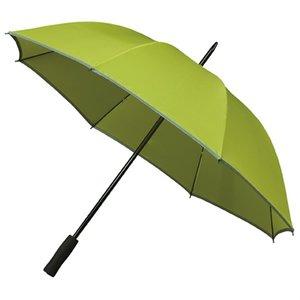 Reflektierender Golfregenschirm Grün