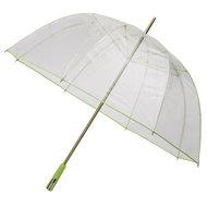 Durchsichtiger Golfregenschirm Grün