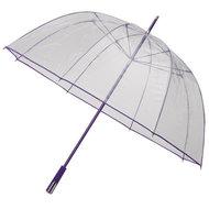 Durchsichtiger Golfregenschirm Violett
