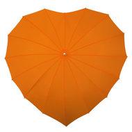 Herz Regenschirm Orange