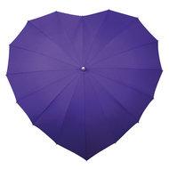 Herz Regenschirm Violett