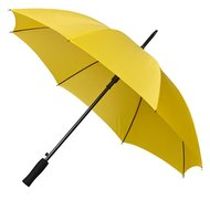 Golfregenschirm gelb