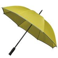 Reflektierender Golfregenschirm Gelb